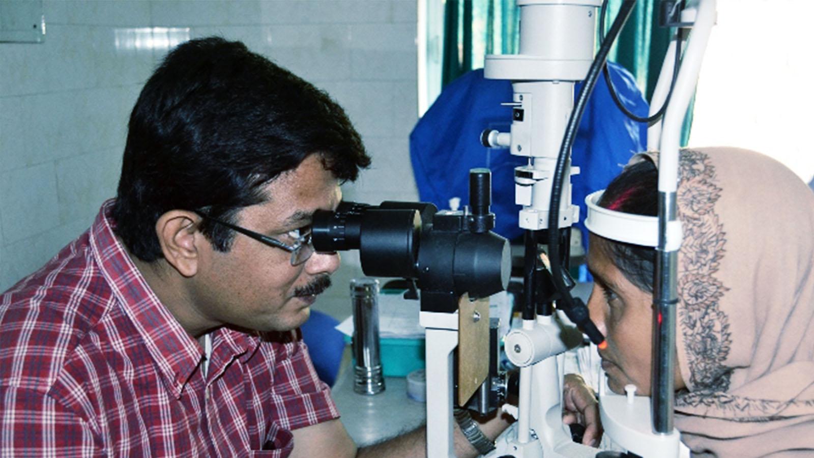 MGEHRI eye treatment