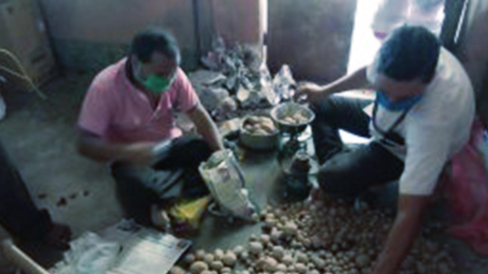 MGEHRI Food distribution
