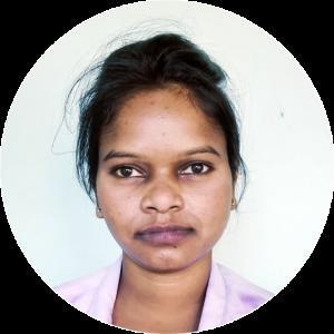 MGEHRI nurse Punta Murmu- Receptionist
